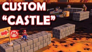 I made a new Mario Castle Level in Super Mario 3D World