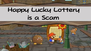 Happy Lucky Lottery is a Scam