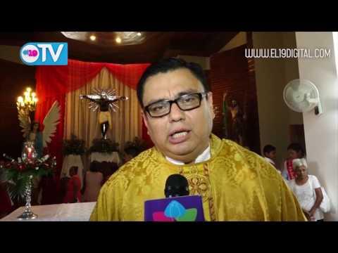 Feligresia de Masatepe celebra octava en honor a la Santisima Trinidad