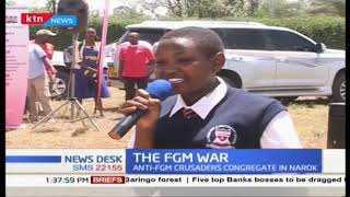Anti-FGM crusaders congregates in Narok in fight to eradicate the FGM