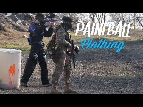 Let's Play Paintball: Clothing for Speedball / Woodsball
