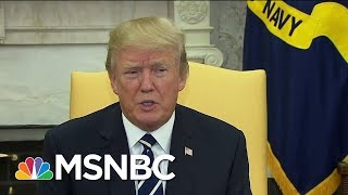 President Donald Trump Comments On GOP Train Crash And Promises A 'Full Report' | MSNBC thumbnail