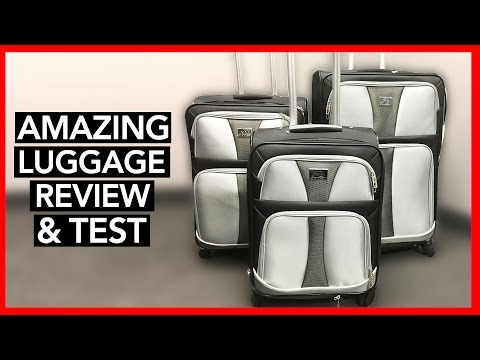 BEST 3 PIECES OF LUGGAGE for 60% OFF – Review & Pack Test