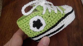 Baskets Converse Au Crochet Taille Naissance à 12 Mois Partie 22