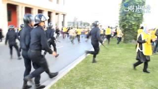 Hespress.com: Protestations & Forces à Rabat
