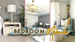 DIY Master Bedroom Makeover REVEAL & Room Tour! | HGTV Design At Your Door | Before & After