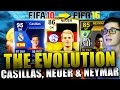 Download Video FIFA 16: ULTIMATE TEAM (DEUTSCH) - THE EVOLUTION FT. CASILLAS, NEUER & NEYMAR! RETRO FIFA #2