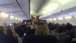 Chris Young And Cassadee Pope Perform At 35,000 Feet // Country Outfitter