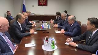 Встреча с Министром иностранных дел Узбекистана А.Х.Камиловым