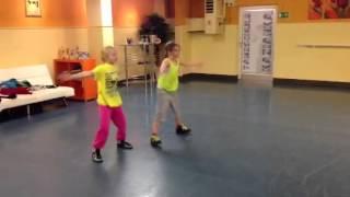 Hip-Hop-Einlage in der Tanzschule Kazianka