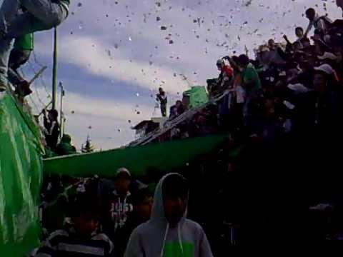 """""""LA BANDA DE ATRÁS DEL CANAL(+TELÓN) - PACIFICO B.BCA (2013) vs Rosario"""" Barra: La Banda de Atrás del Canal • Club: Pacífico"""