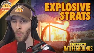 Rescuing BRDMs and Blowing Things Up - chocoTaco PUBG Gameplay