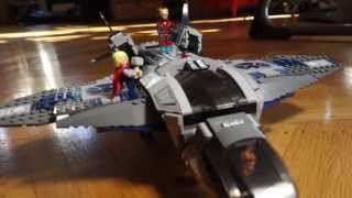 Action Cam Geek challenge: Building The Avengers LEGO® plane
