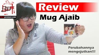 video mug berubah warna | cetak mug bunglon (magic mug/ ajaib)