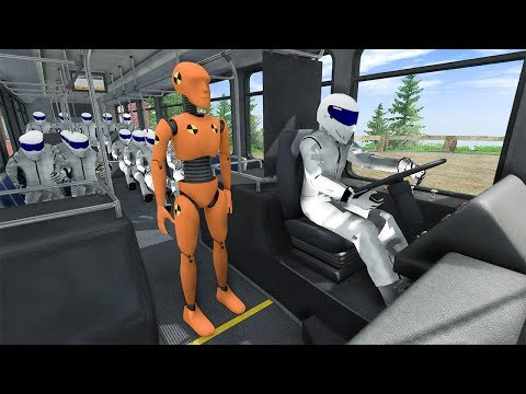 Crash Test Dummy #4 - BeamNG DRIVE | SmashChan