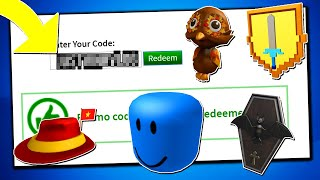 *SEPTEMBER* ALL WORKING PROMO CODES ON ROBLOX 2019| ROBUX NEW ICON! (NOT EXPIRED!)