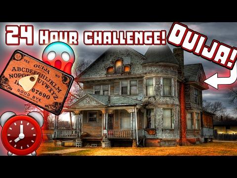 Moe Sargi w/ You! - (OUIJA) 24 HOUR OVERNIGHT CHALLENGE OUIJA BOARD