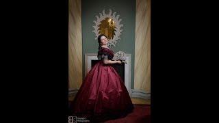 Dressing  A 1865 Lady:  Ball Attire