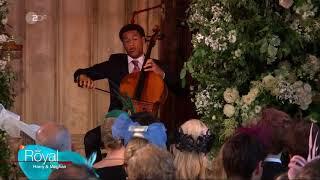Sheku Kanneh-Mason performs Cello @ The Royal Wedding of Prince Harry & Meghan Markle (2018)