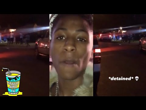 NBA Youngboy Arrested/Detained In Baton Rouge