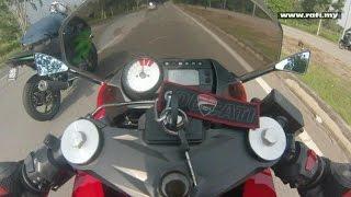Naza Blade GTR 250 VS Kawasaki Ninja 250R