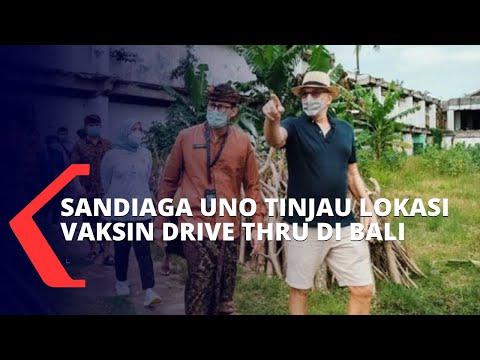 Menparekraf Sandiaga Uno Tinjau 5 Destinasi Wisata di Bali yang Akan Dijadikan Lokasi Vaksinasi