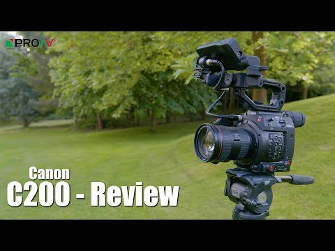 Canon C200 - Hands On Review