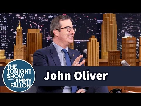 John Oliver podruhé u Jimmyho Fallona - The Tonight Show Starring Jimmy Fallon
