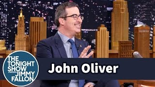 John Oliver Got Bounced from a Sauna and Tickled b...