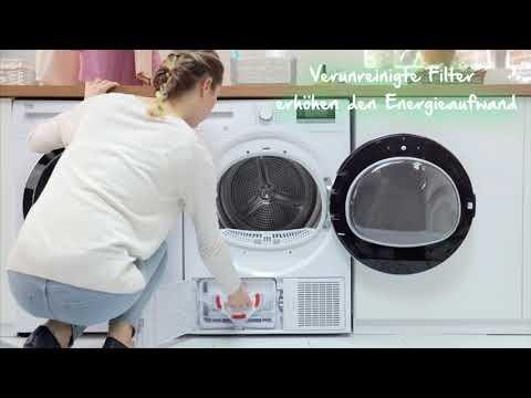 Beko erklärt - Den Wäschetrockner reinigen