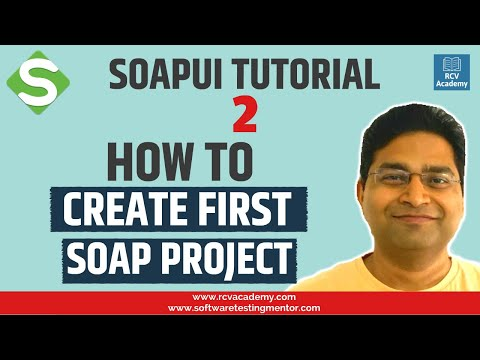 SoapUI Tutorial #2 - Create first SoapUI Project   SOAP API Project ...