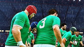 Picture of a game: Rugby
