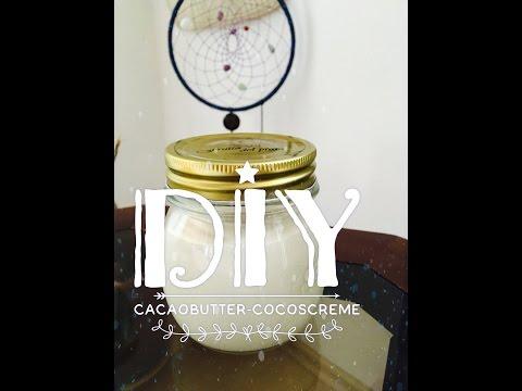 DIY: Bodybutter Kakaobutter - Kokoscreme einfach selber machen