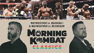 Mayweather vs McGregor & Maidana | Morning Kombat Classics x SHOWTIME BOXING | #StayHome #WithMe