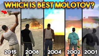 GTA : WHICH IS BEST MOLOTOV IN ALL GTA? (GTA 5, 4, SA, VC, 3) تحميل MP3