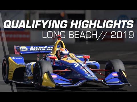 2019 NTT IndyCar Series: Long Beach Qualifying Highlights