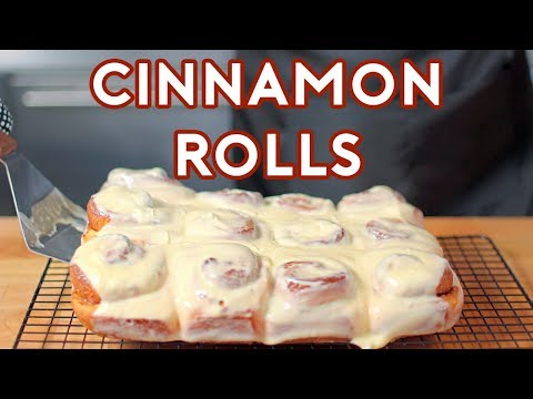 Binging with Babish: Cinnamon Rolls from Jim Gaffigan's Stand Up (sort of)
