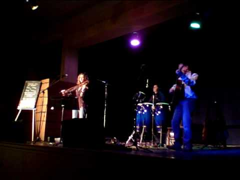 Killing The Blues - acoustic - cover - live performance by Wild Maple 4/16/10 (Rowland Salley)