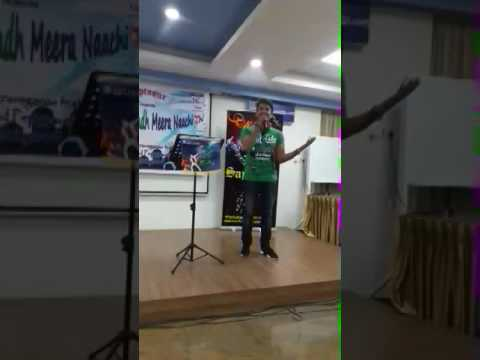 One of performance in saptasur karaoke club in bangalore on Saturday 16th October 2016