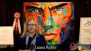 Luana Rubin presents International Quilts at the 2016 IQA