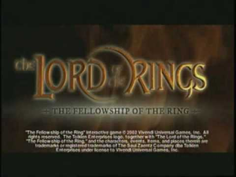 LORD OF THE RINGS FELLOWSHIP OF THE RING UK IMPORT