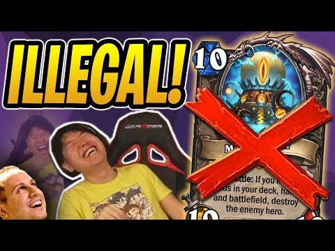 This Deck is ILLEGAL! Mechathun Warlock WITHOUT MECHATHUN?! | Rastakhan's Rumble | Hearthstone