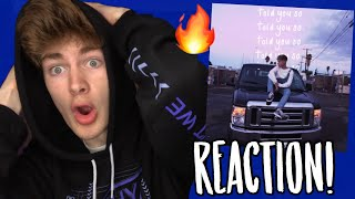 """HRVY   """"Told You So"""" REACTION!"""