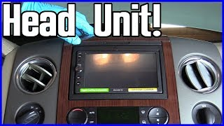 Radio Head Unit Replacement Ford F-150