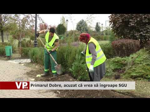 Primarul Dobre, acuzat că vrea să îngroape SGU