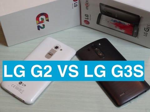 Foto LG G2 vs LG G3S (LG G3 Beat)
