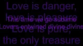 Lyrics Gabrielle Aplin - The Power of Love HD
