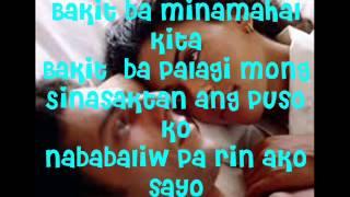 Bakit ba Minamahal Kita with lyrics