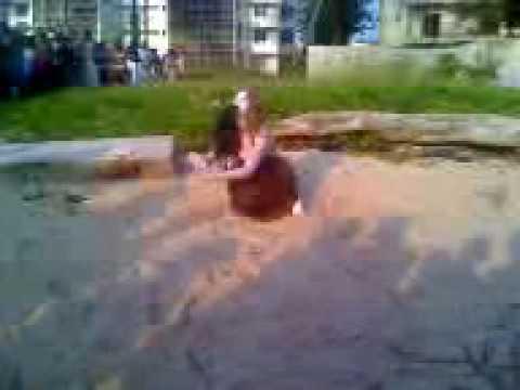 la sirène à la plage de libreville en direct par moi même