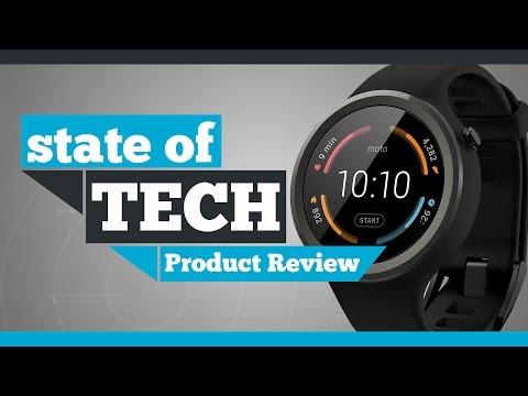 Motorola Moto 360 Sport Android Wear Review
